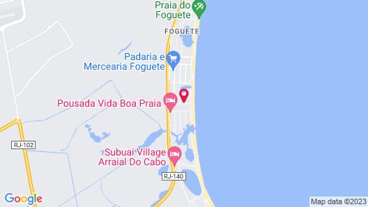 Praia do Foguete Style Map