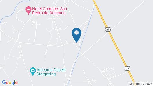 Atacama Loft & Glamp Map