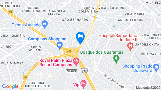 Nacional Inn Campinas Trevo Map