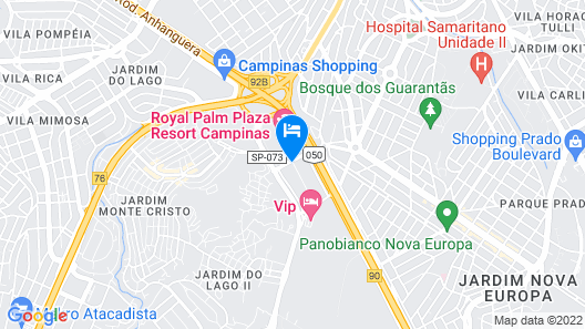 Royal Palm Tower Anhanguera Map