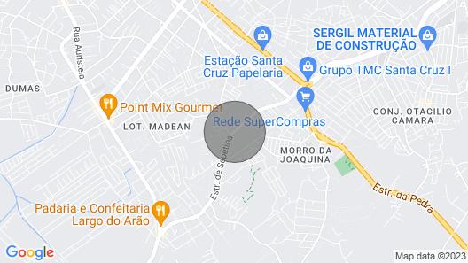 Hostel Sítio Blue RJ Map