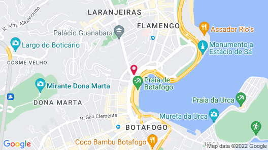 Yoo2 Rio de Janeiro by Intercity Map