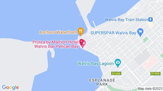 Protea Hotel by Marriott Walvis Bay Pelican Bay Map