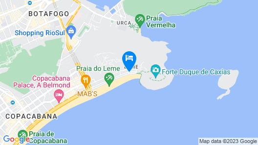 Arena Leme Hotel Map
