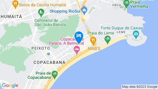 Royal Rio Palace Hotel Map