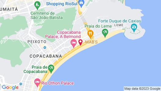 PortoBay Rio de Janeiro Map