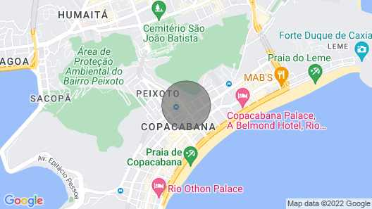 The Villa in Copacabana - 8 Bedrooms / Private POOL / CHEF Map