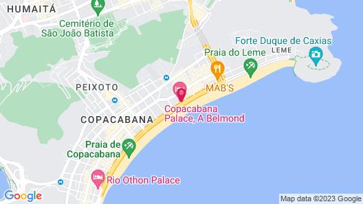 Copacabana Palace, A Belmond Hotel, Rio de Janeiro Map