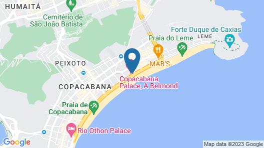 Belmond Copacabana Palace Map