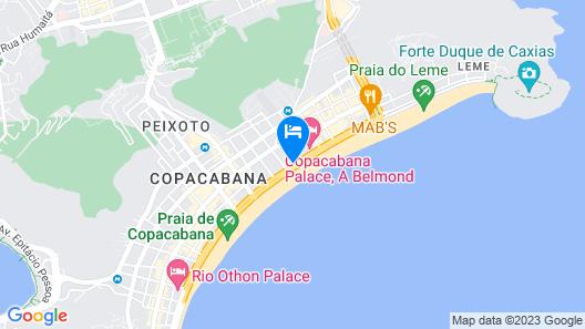 Hotel Astoria Palace Map