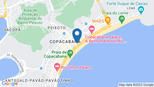 Olinda Rio Hotel Map
