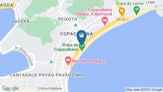JW Marriott Hotel Rio de Janeiro Map