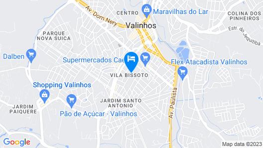 Hotel Itapema Map