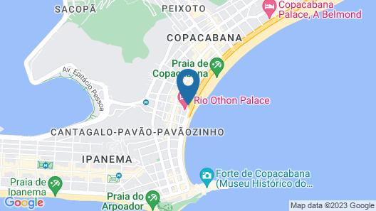 Temporada Copacabana Map
