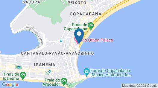 Rio Othon Palace Map