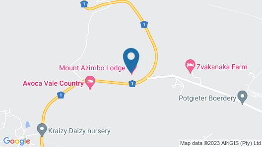 Mount Azimbo Lodge Map