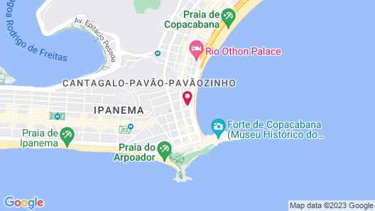 Atlantica Flats Map