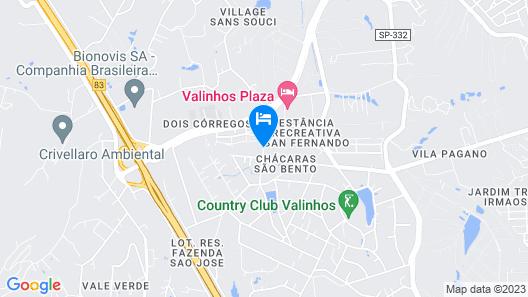 Veridiana - Checara em Valinhos Map
