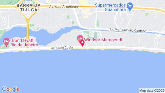 Windsor Marapendi Map