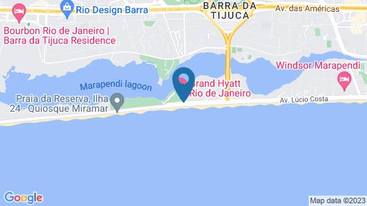 Grand Hyatt Rio De Janeiro Map