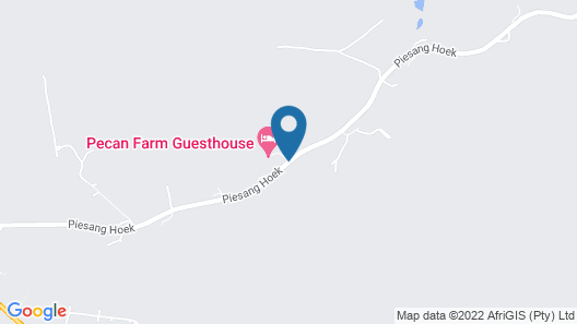 Plaas Guest House Map