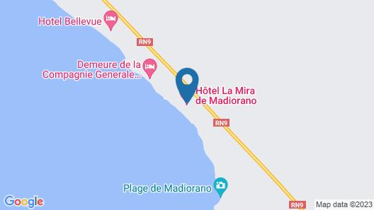 Hotel La Mira De Madiorano Map