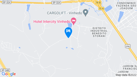 Intercity Vinhedo Map