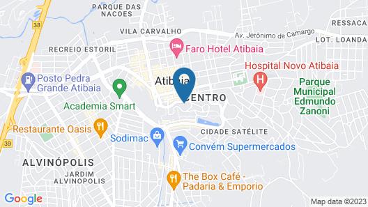Vila Verde Hotel Map