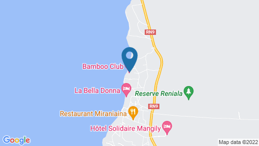 Bamboo Club Map