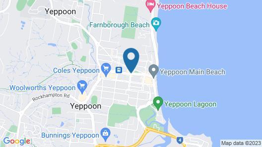 Sail Inn Motel Map