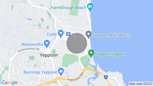 Seaview Apartment Only A Stroll TO Yeppoon CBD Map
