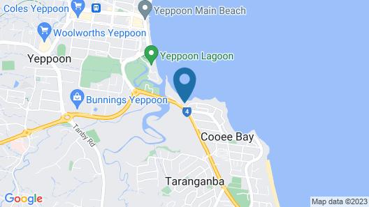 Seaspray Waterfront Holiday Units Map