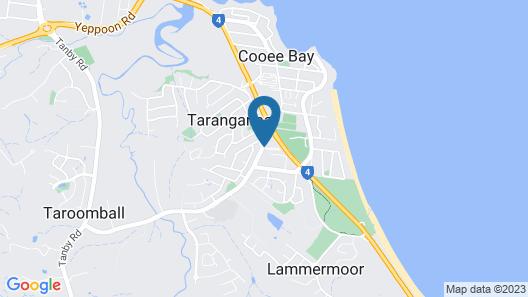 The Coast Motel Map