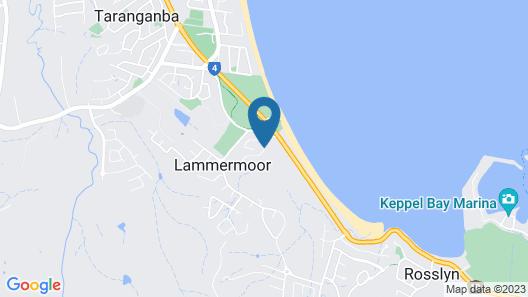 Beaches on Lammermoor Apartments Map