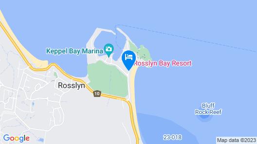 Rosslyn Bay Resort Map