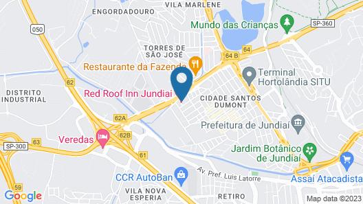 Red Roof Inn Jundiaí Map