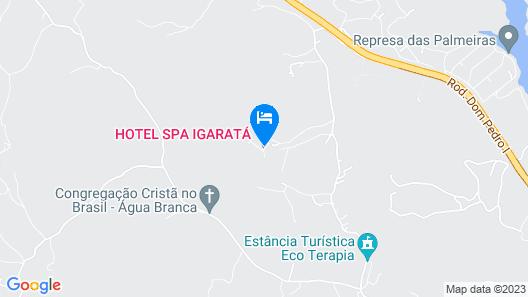 Spa Fazenda Igaratá Map