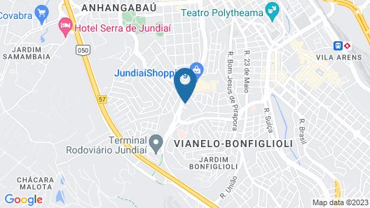 ibis budget Jundiai Shopping Map