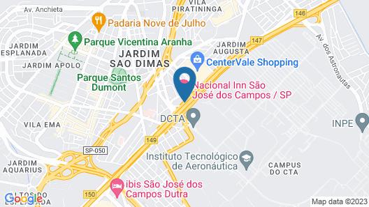Hotel Nacional Inn São José dos Campos Map