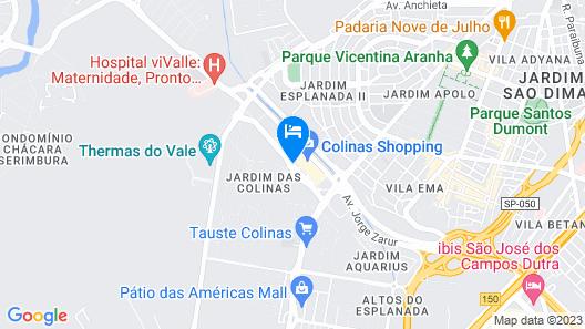 Golden Tulip Sao Jose Dos Campos Map