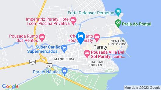 Pousada Marendaz Map