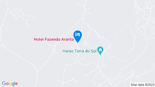 Hotel Fazenda Ararita Map