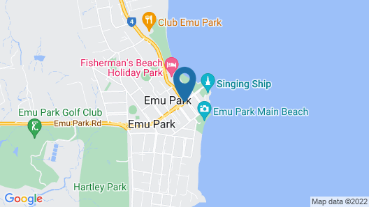 Endeavour Inn - Emu Park Map