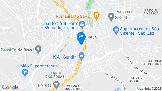 Gandini Hotel Map