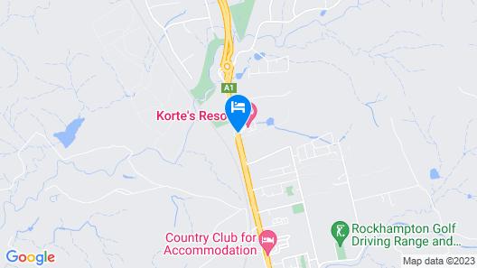 Korte's Resort Map
