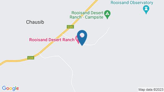 Rooisand Desert Ranch Map