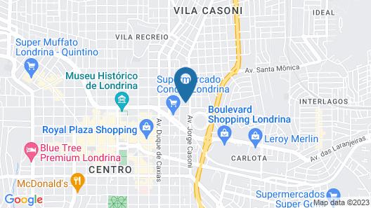 Londres Royal Hotel Map
