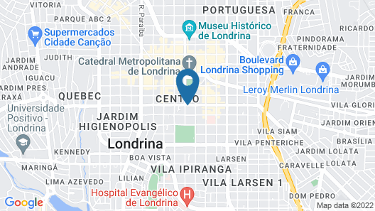 Bristol Londrina Residence Map