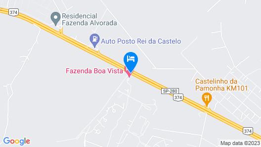 Hotel Fasano Boa Vista Map