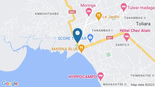 Hotel Amazone Map